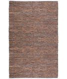 RugStudio presents St. Croix Matador Leather Chindi Lcd01 Brown Woven Area Rug