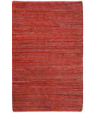 RugStudio presents St. Croix Matador Leather Chindi Lcd04 Red Woven Area Rug