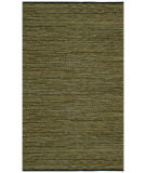 RugStudio presents St. Croix Matador Leather Chindi Lcd21 Green Woven Area Rug