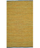 RugStudio presents St. Croix Matador Leather Chindi Lcd23 Gold Woven Area Rug