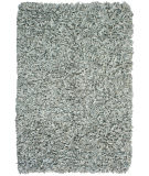 RugStudio presents St. Croix Pelle Leather Shag Ld07 Grey Area Rug