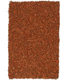 RugStudio presents St. Croix Pelle Leather Shag Ld12 Copper Area Rug