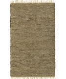 RugStudio presents St. Croix Matador Brown Leather & Hemp Lh01 Brown Woven Area Rug