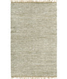 RugStudio presents St. Croix Matador White Leather & Hemp Lh02 White Woven Area Rug