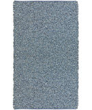 RugStudio presents St. Croix Pelle Leather / Denim Reversible Lr10 Blue Area Rug