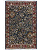 RugStudio presents St. Croix Traditions Kashan Pt11 Navy Hand-Tufted, Good Quality Area Rug