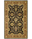 RugStudio presents St. Croix Traditions Kashan Pt19 Black Hand-Tufted, Good Quality Area Rug