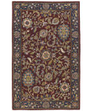 RugStudio presents St. Croix Traditions Kashan Pt31 Red Hand-Tufted, Good Quality Area Rug