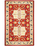 RugStudio presents St. Croix Traditions Virtu Pt68 Red Hand-Tufted, Good Quality Area Rug