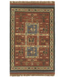 RugStudio presents St. Croix Hacienda Tribal Wfw12 Brick Flat-Woven Area Rug