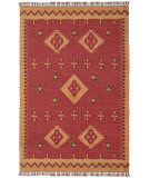 RugStudio presents St. Croix Hacienda Wfw17 Wine Flat-Woven Area Rug