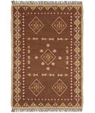 RugStudio presents St. Croix Hacienda Wfw18 Brown Flat-Woven Area Rug