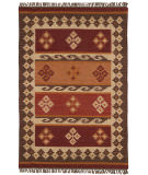RugStudio presents St. Croix Hacienda Wfw19 Burgundy Flat-Woven Area Rug