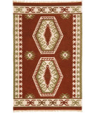 RugStudio presents St. Croix Hacienda Wfw21 Brick Flat-Woven Area Rug
