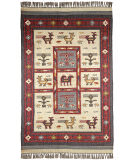 RugStudio presents St. Croix Hacienda Wfw22 Off White Flat-Woven Area Rug