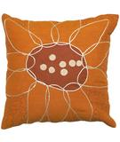 RugStudio presents Surya Pillows FU-2003 Burnt Orange