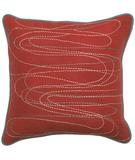 RugStudio presents Surya Pillows OD-8001 Cherry Sisal/Seagrass/Jute