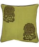 RugStudio presents Surya Pillows P-0111 Lime/Olive