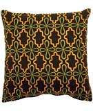 RugStudio presents Surya Pillows P-0136 Chocolate