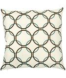 RugStudio presents Surya Pillows P-0163 Ivory/Olive
