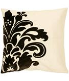 RugStudio presents Surya Pillows P-0171 Beige/Black