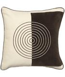 RugStudio presents Surya Pillows TT-1305 Beige/Chocolate