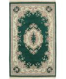 RugStudio presents Surya Avalon Aubusson Emerald Hand-Knotted, Good Quality Area Rug
