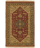 RugStudio presents Rugstudio Sample Sale 8441R Maroon Flat-Woven Area Rug