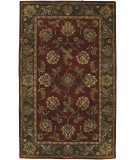 RugStudio presents Surya Ancient Treasures A-109 Red/Green Hand-Tufted, Best Quality Area Rug