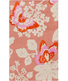 RugStudio presents Surya Abigail ABI-9003 Neutral / Pink / Red Area Rug