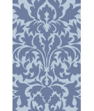 RugStudio presents Surya Abigail ABI-9005 Violet (purple) / Blue Machine Woven, Good Quality Area Rug