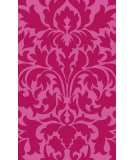 RugStudio presents Surya Abigail ABI-9006 Pink / Violet (purple) Machine Woven, Good Quality Area Rug