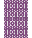 RugStudio presents Surya Abigail ABI-9010 Ivory / Violet (purple) Machine Woven, Good Quality Area Rug