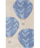 RugStudio presents Surya Abigail ABI-9014 Blue Machine Woven, Good Quality Area Rug