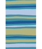 RugStudio presents Surya Abigail ABI-9017 Blue / Violet (purple) / Green Area Rug