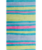 RugStudio presents Surya Abigail ABI-9022 Pink / Blue / Green Machine Woven, Good Quality Area Rug
