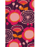 RugStudio presents Surya Abigail ABI-9045 Orange / Pink / Violet (purple) Machine Woven, Good Quality Area Rug