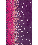 RugStudio presents Surya Abigail ABI-9053 Pink / Violet (purple) Machine Woven, Good Quality Area Rug