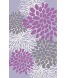 RugStudio presents Surya Abigail ABI-9055 Neutral / Pink / Violet (purple) Machine Woven, Good Quality Area Rug