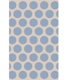 RugStudio presents Surya Abigail ABI-9060 Neutral / Blue Machine Woven, Good Quality Area Rug