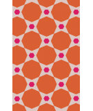 RugStudio presents Surya Abigail ABI-9066 Hot Pink / Poppy Machine Woven, Good Quality Area Rug