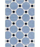 RugStudio presents Surya Abigail ABI-9068 Blue Machine Woven, Good Quality Area Rug