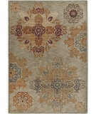RugStudio presents Surya Arabesque ABS-3000 Gray / Rust / Forest Machine Woven, Good Quality Area Rug