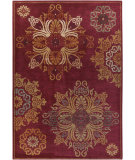 RugStudio presents Surya Arabesque ABS-3001 Burgundy Machine Woven, Good Quality Area Rug