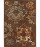 RugStudio presents Surya Arabesque ABS-3002 Neutral / Violet (purple) / Green Area Rug