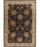RugStudio presents Surya Arabesque ABS-3005 Neutral / Violet (purple) / Green Machine Woven, Good Quality Area Rug