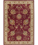 RugStudio presents Surya Arabesque ABS-3006 Neutral / Violet (purple) / Green Area Rug