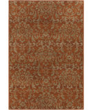 RugStudio presents Surya Arabesque ABS-3007 Neutral / Red / Green Area Rug