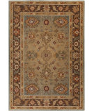 RugStudio presents Surya Arabesque ABS-3011 Neutral / Green / Violet (purple) Area Rug