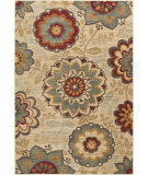 RugStudio presents Surya Arabesque ABS-3015 Green / Neutral / Red / Violet (purple) Area Rug